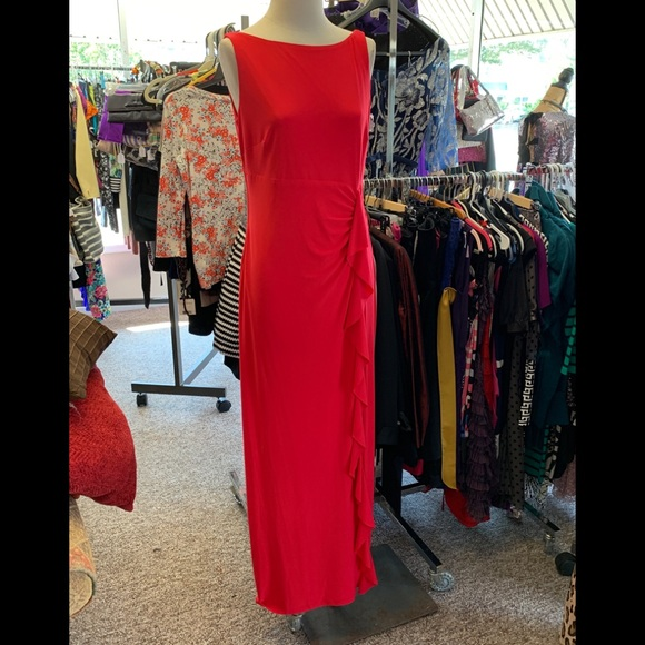 Chaps Dresses & Skirts - NEW CHAPS RED DRESS SZ 12